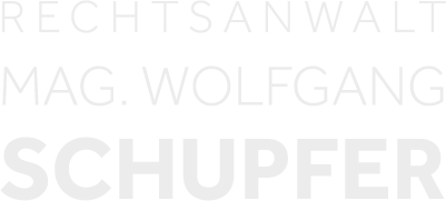 Logo: Rechtsanwalt Mag. Wolfgang Schupfer - Rechtsanwalt Graz